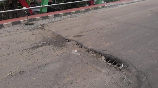 Perbaikan Jembatan JM Sekayu Dipertanyakan