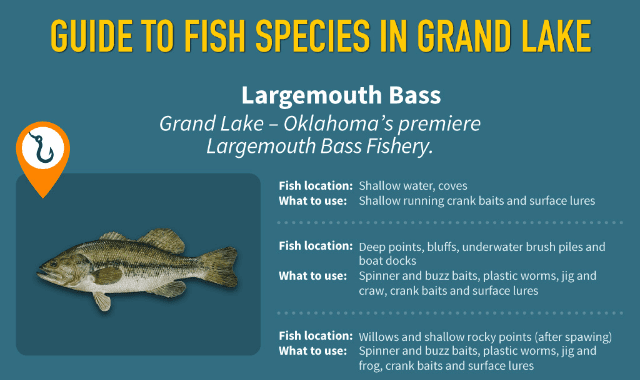 Grand Lake O' The Cherokees Fishing Guide