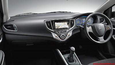 Interior Mobil Suzuki Baleno
