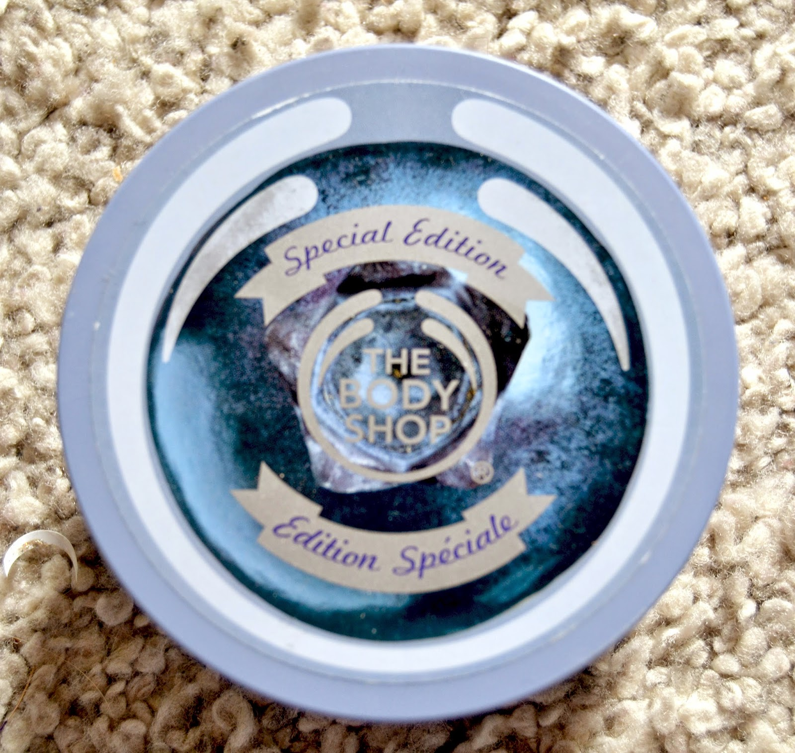 The Body Shop Body Butter Blueberry