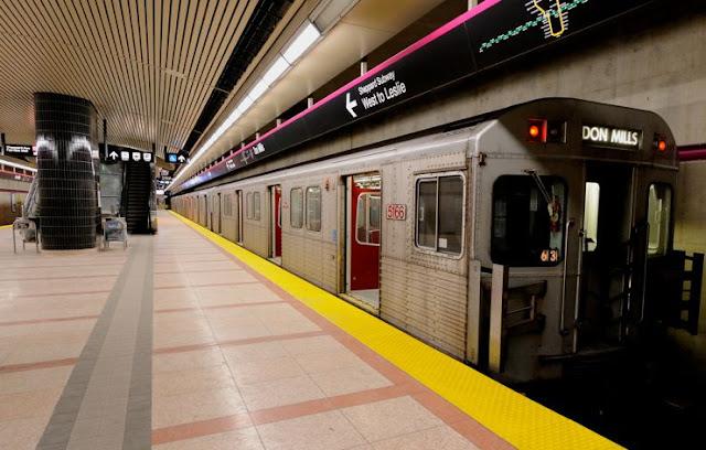 Metrô em Toronto