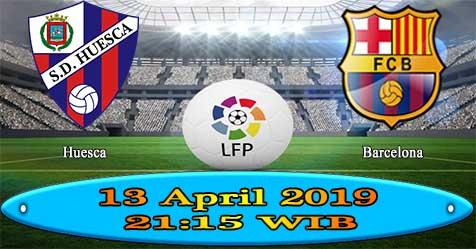 Prediksi Bola855 Huesca vs Barcelona 13 April 2019