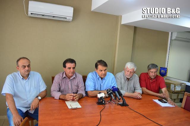Πέντε Δήμαρχοι της Πελοποννήσου απαντούν στον Τατούλη για την διαχείριση των απορριμάτων