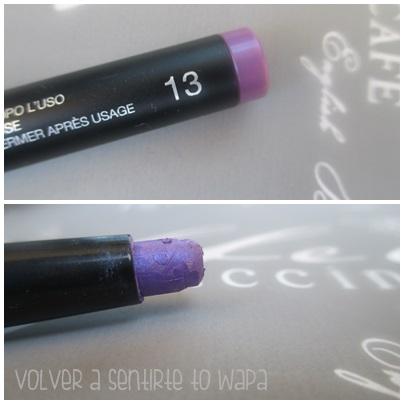 LONG LASTING de KIKO {Review & Swatches} - 13 Violet