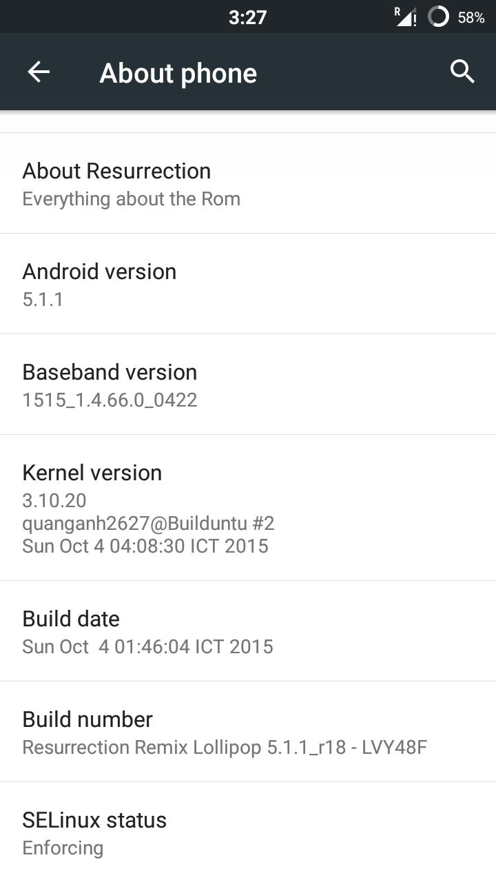 ROM] Resurrection Remix V5 5 6 for ASUS Zenfone 5 ~ Asus