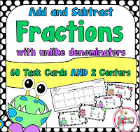 add and subtract fractions with unlike denomiators