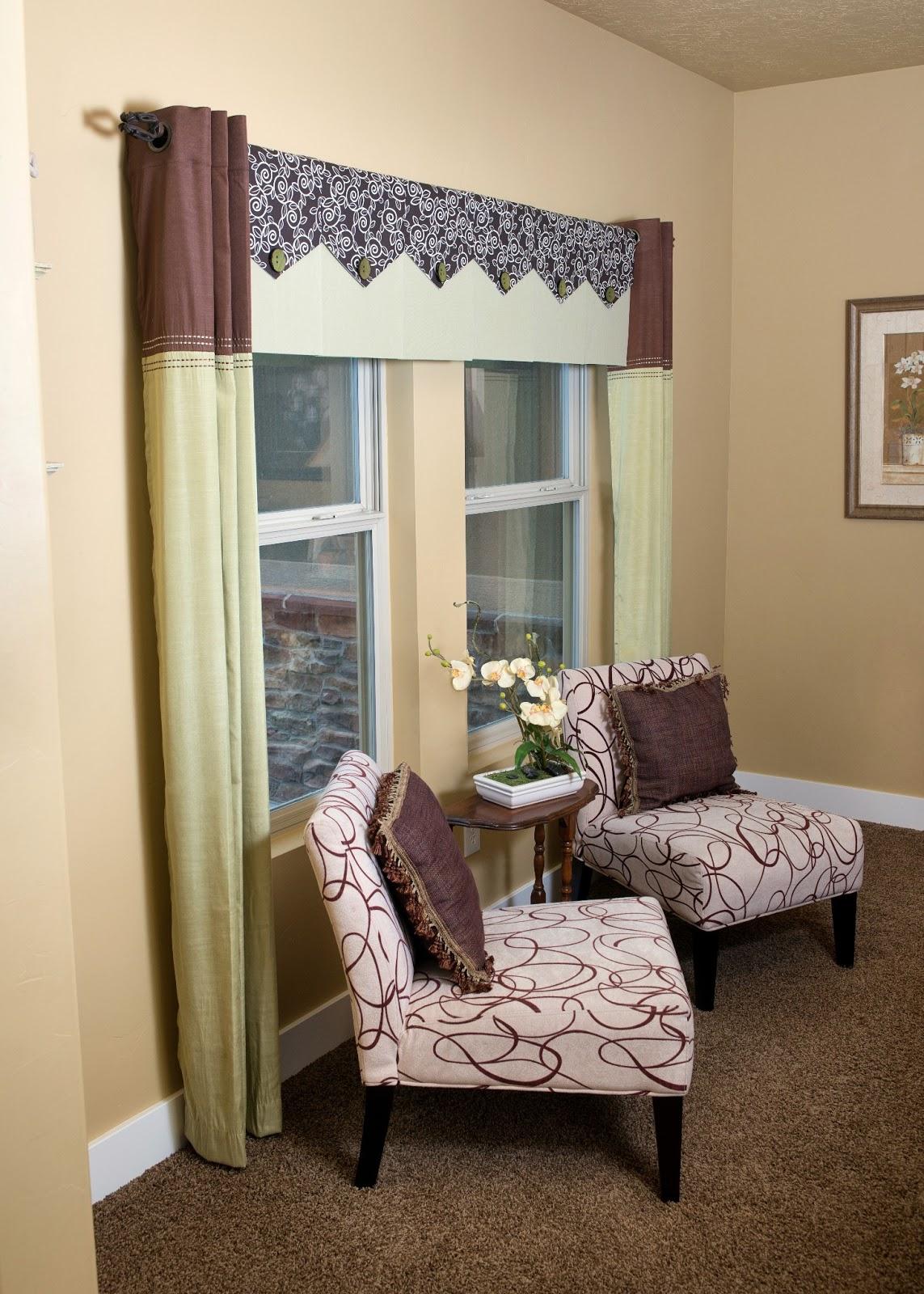 Window Treatment: Valance And Treatments: Custom Window
