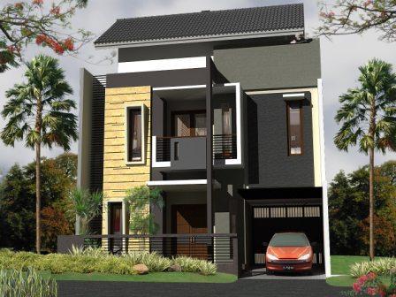 desain rumah minimalis 2 lantai tipe 36