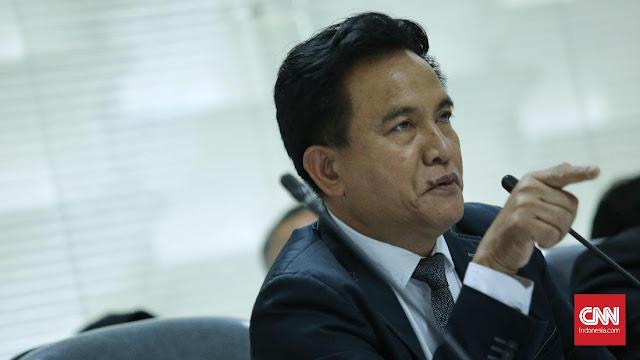 Yusril Sebut Jenderal Jadi Plt Gubernur Langgar Undang-undang