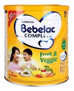 Bebelac Fruit dan Veggie