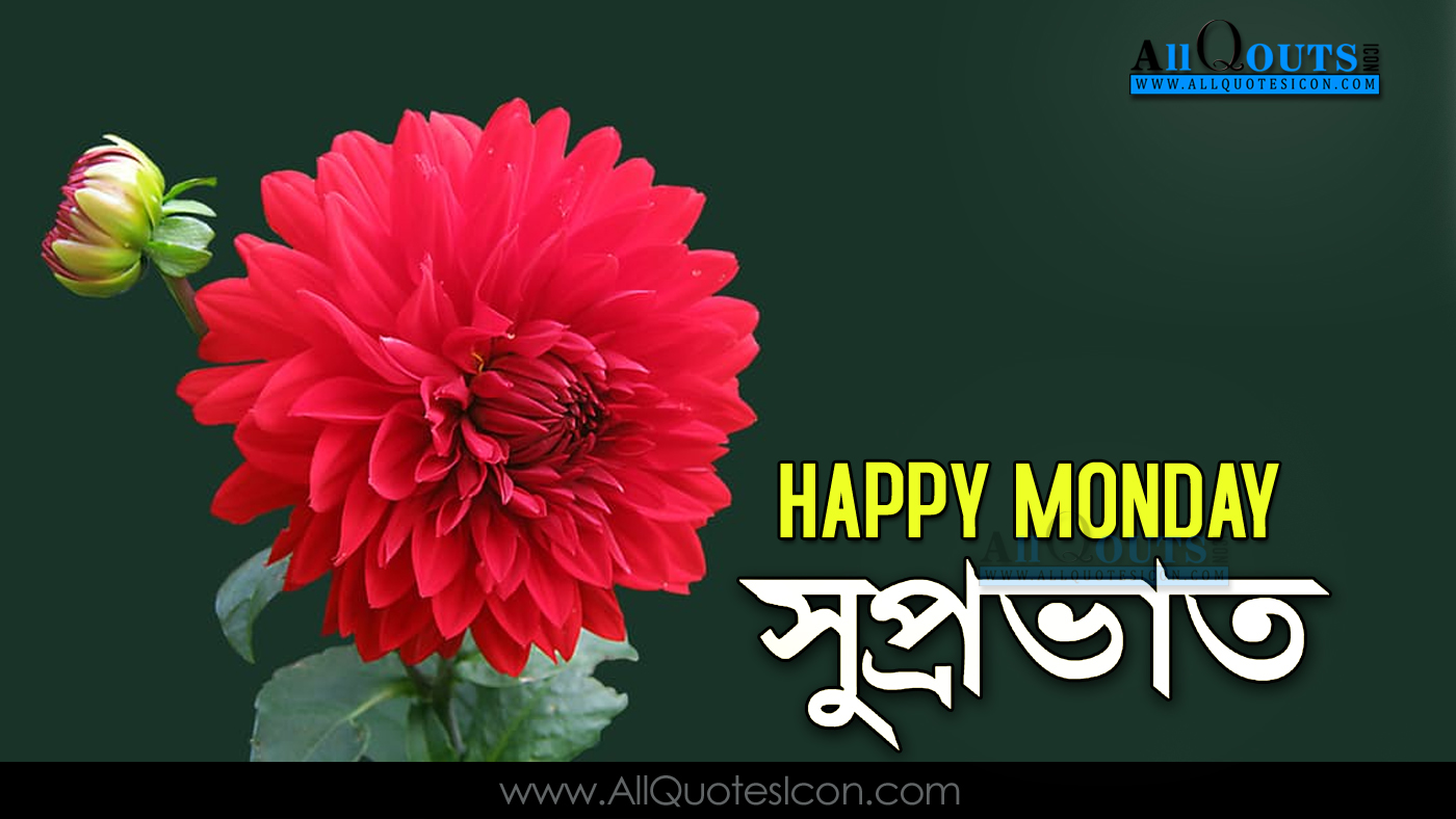 Happy Monday Images Good Morning Quotes Best Bengali Quotations