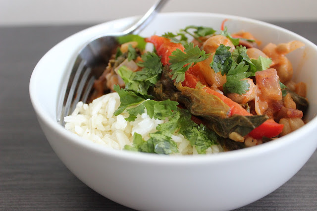Veggie-Packed Thai Red Curry | A Hoppy Medium