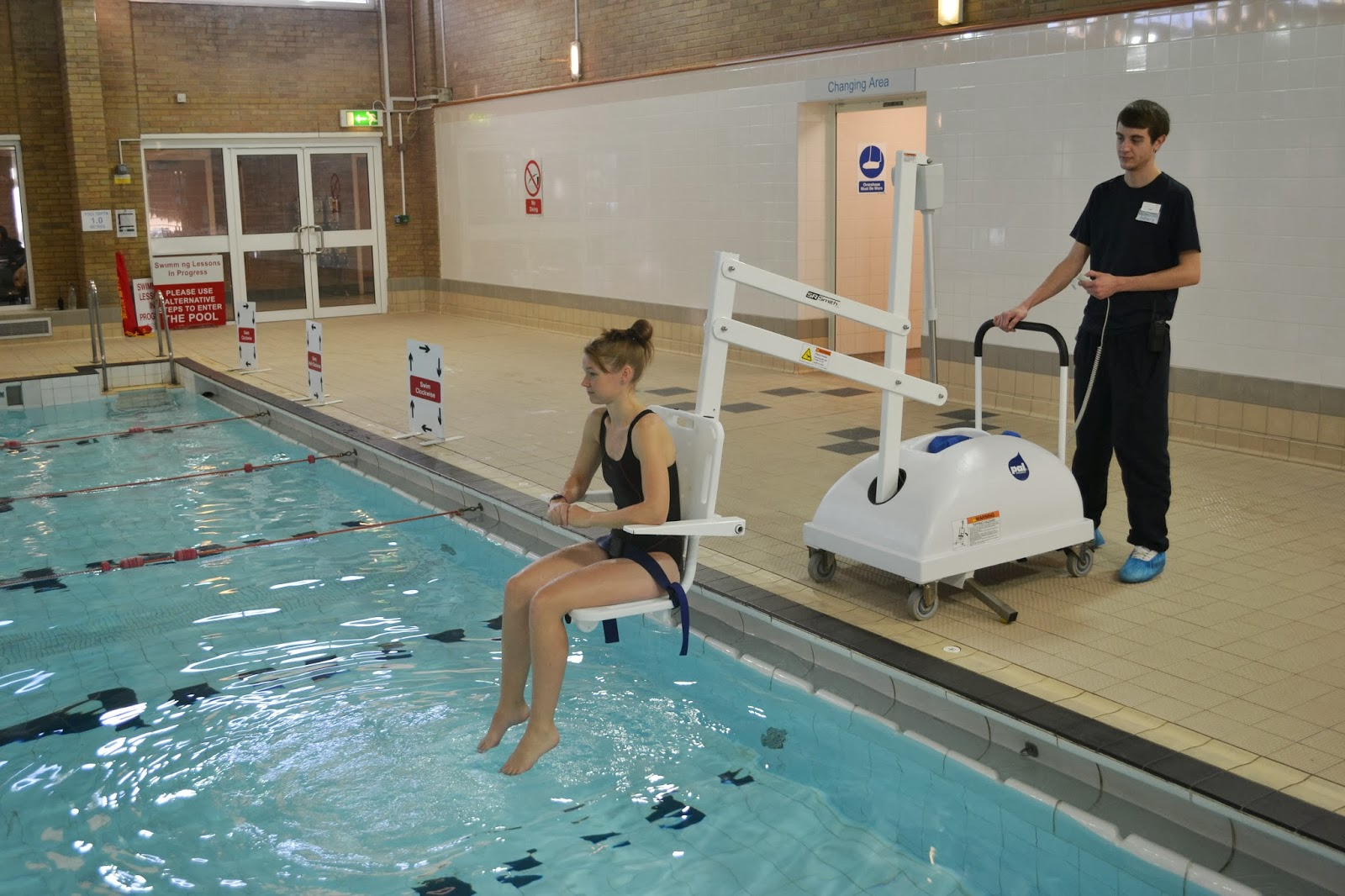 Mobility Products For Disabled People Swimming Pool In