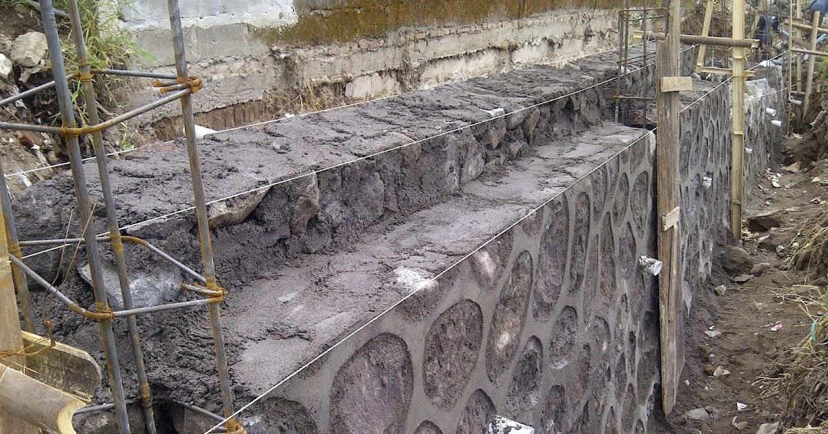 Image Result For Konstruksi Dinding Penahan Tanah