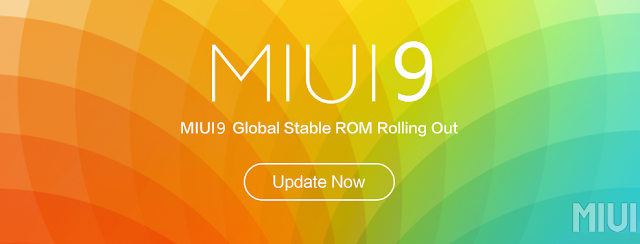 MIUI 9 Global Beta ROM 7.8.24 Changelog and Download Links