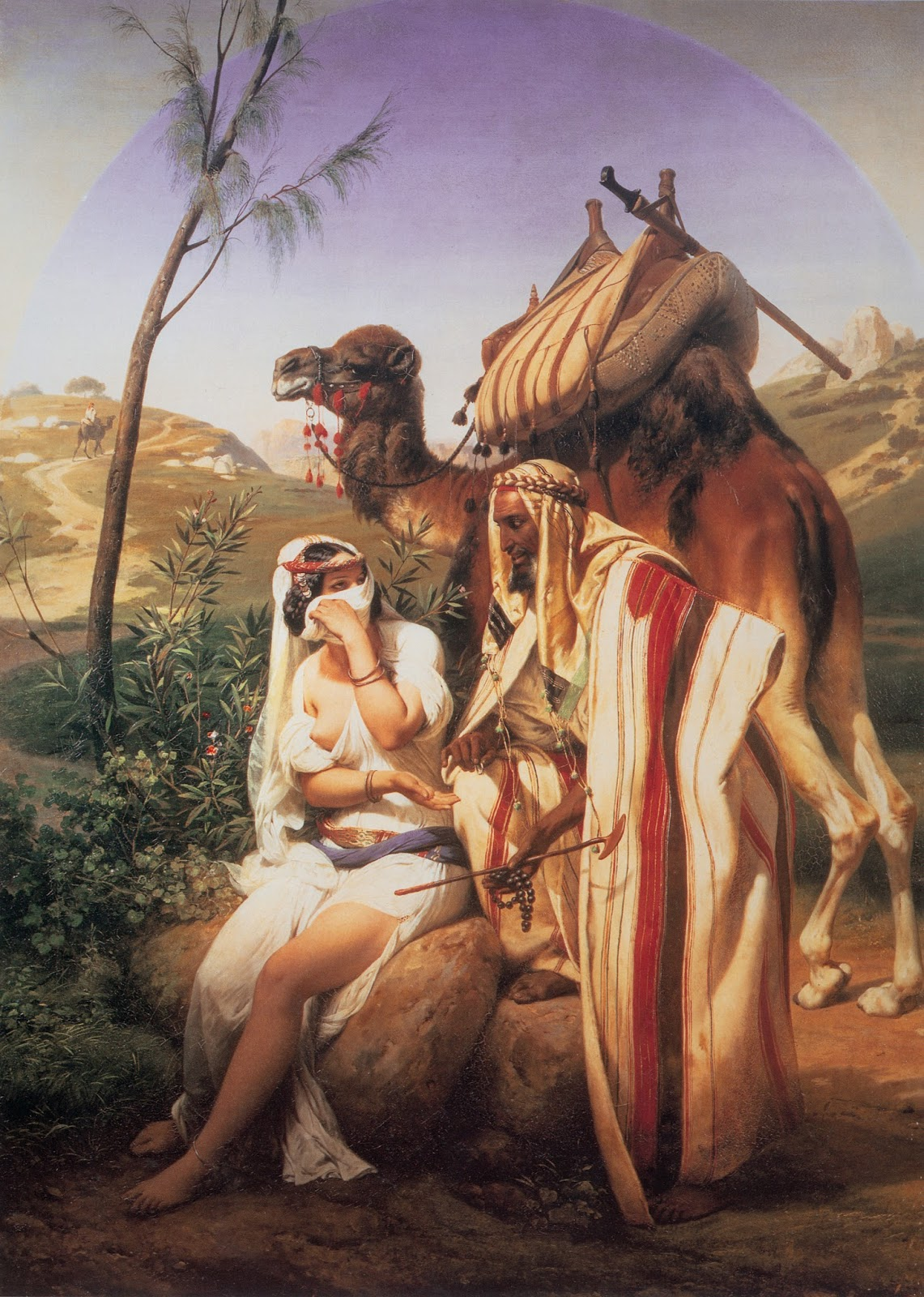 Judah and Tamar (1840)