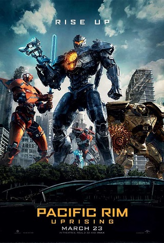 Pacific Rim Uprising 2018 Dual Audio Hindi 300MB HDRip 480p