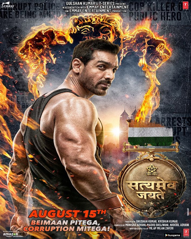 John Abraham, Manoj Bajpayee film Satyameva Jayate Crosses 73 Crore Mark, 6th 71.30 crs Highest-Grossing Opening Weekends of 2018