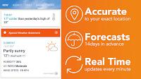 تطبيق AccuWeather للأندرويد - تطبيق النشرة الجوية 2019 (1)