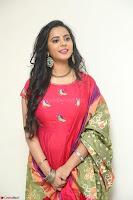 Manasa in Pink Salwar At Fashion Designer Son of Ladies Tailor Press Meet Pics ~  Exclusive 56.JPG