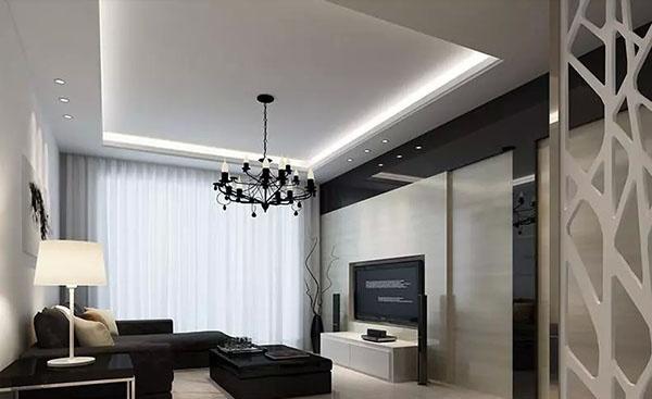 Modern minimalist living room model autodesk 3ds max - 3d model library