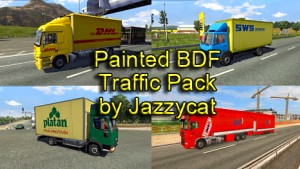 Jazzycat – Painted BDF Traffic Pack 2.8