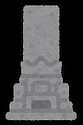 墓石のイラスト3