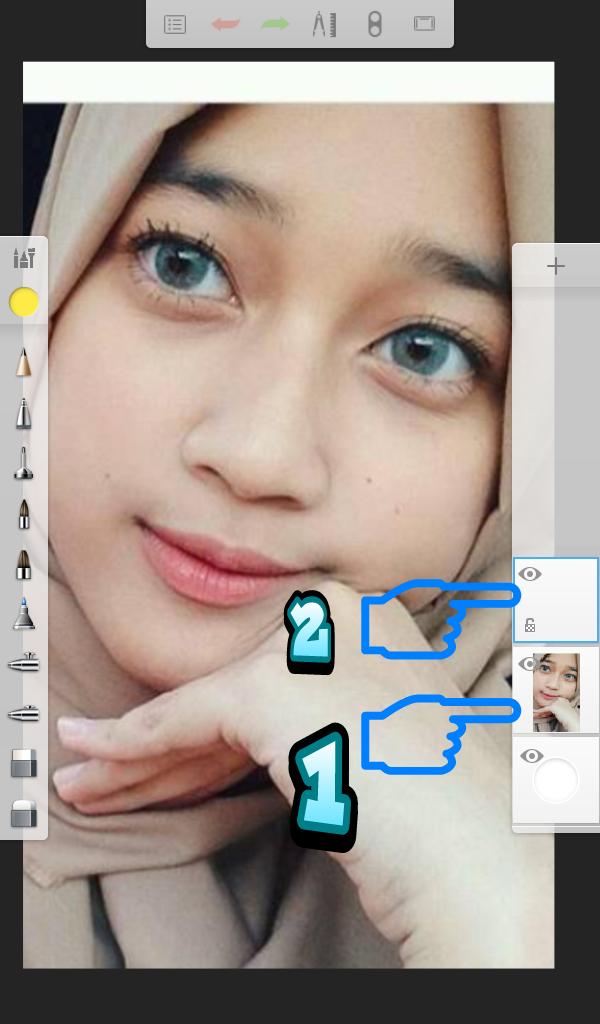 Cara Edit Foto Line Art Dengan Aplikasi Autodesk Sketbook ...