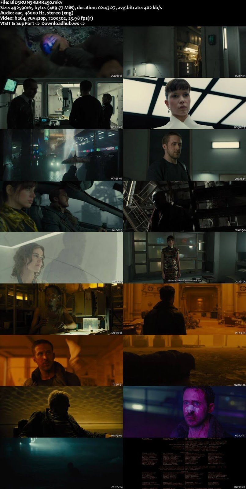 Blade Runner 2049 2017 English 480p BRRip ESubs