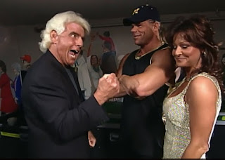 WCW Superbrawl 2000 - Team Package - Ric Flair, Lex Luger, and Miss Elizabeth