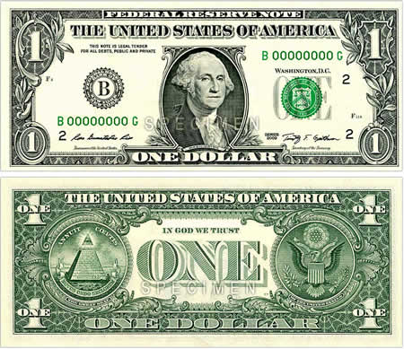 The unique as well as esoteric symbolism of the Great Seal on the dollar nib has long been the  Dollar Bill