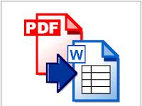 File Cara Mengubah Format PDF ke Dalam Ms.Word