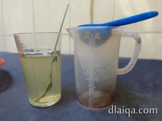 tambahkan air
