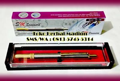 Lancing Device Sammora Silver Pen Bekam Madiun