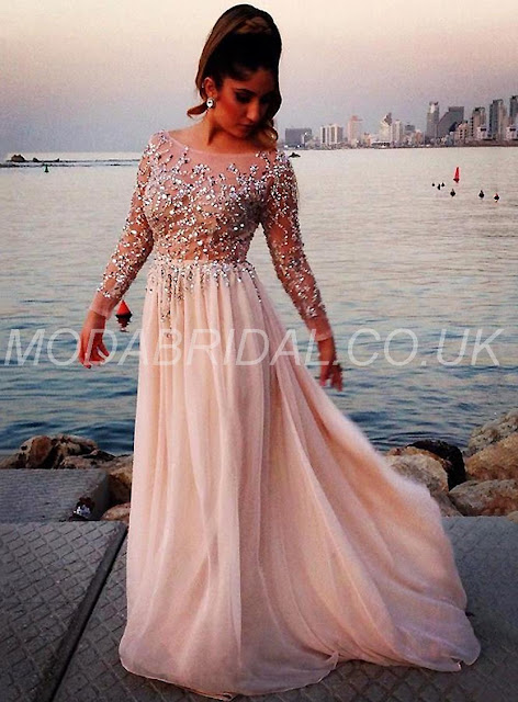 Tailor made Beading Scoop Formal All Sizes Zipper-up Elegant & Luxurious Natural A-line Dress