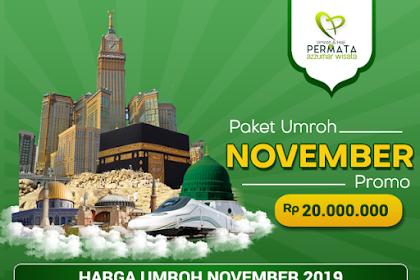 Paket Umroh Promo Bulan November 2019