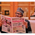 What story do you think Nigeria President Buhari is reading in this Newspaper?