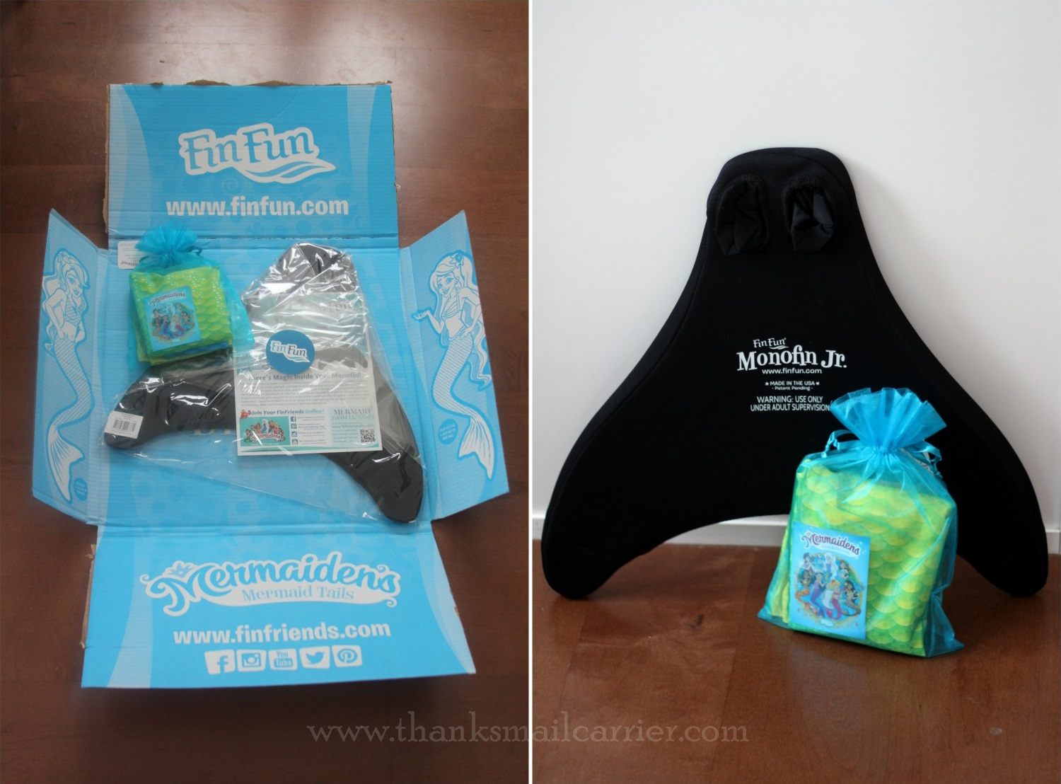 Fin Fun Mermaid Tail packaging