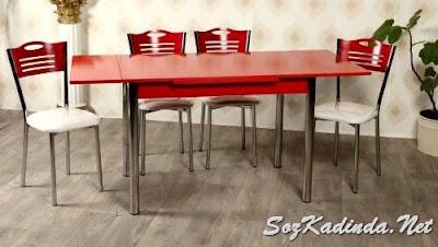 tekzen yemek masası modelleri