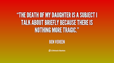 father's day from daughter:The death of my daughter is a subject I talk about birthday because there is nothing more tragic.""