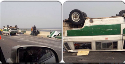 fatal accident third mainland bridge lagos