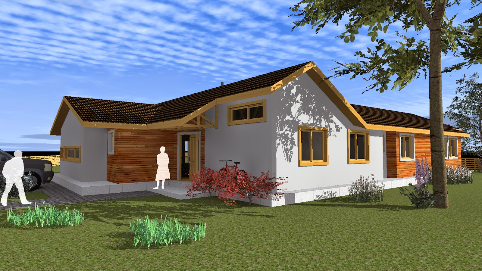 Casa De Campo 200 M2 Arquitecto Cristian Estrada Massera - Casas-de-campo-fotos