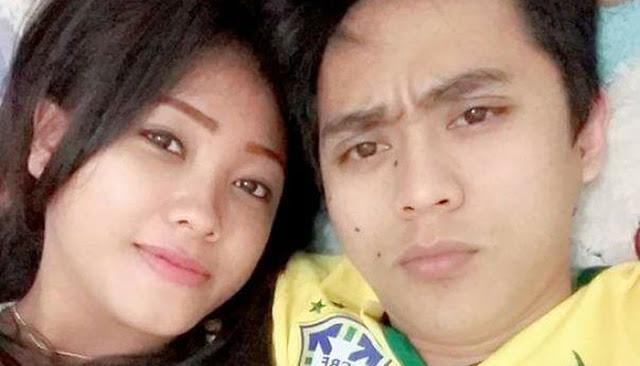 Korban dan tersangka yang merupakan pasangan suami istri