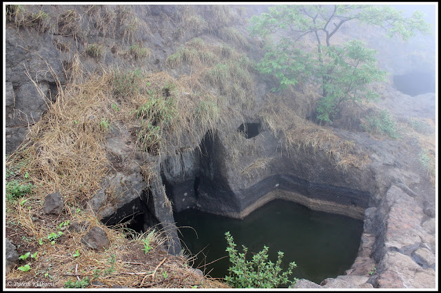 Water trench at Ghangad