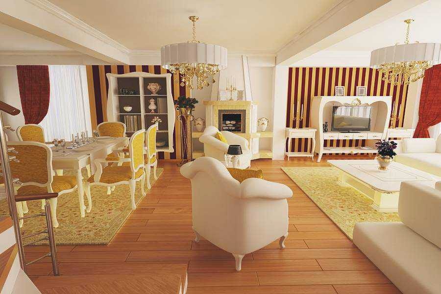 design interior living new clasic