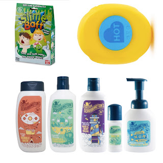 Sensory seeker bathing products