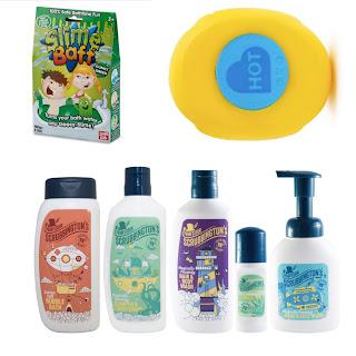 Sensory seeker bathing products