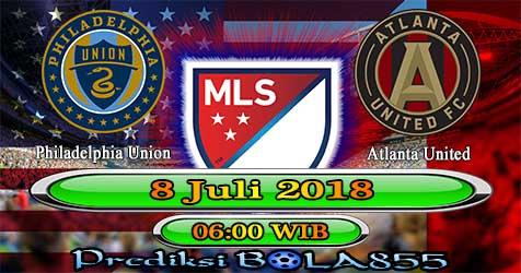 Prediksi Bola855 Philadelphia Union vs Atlanta United 8 Juli 2018