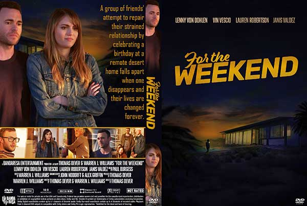 For the Weekend (2020) DVD Cover