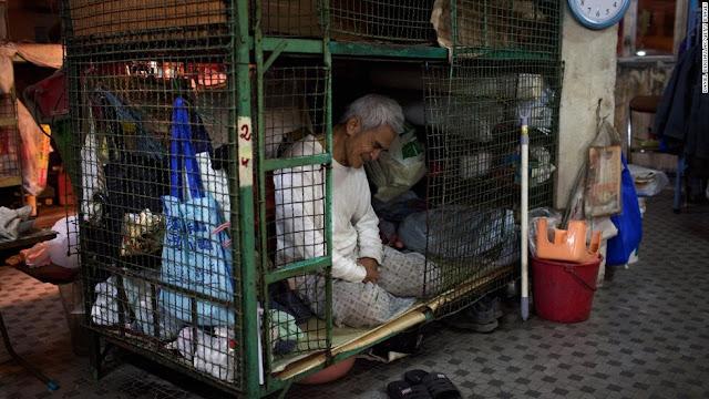 penduduk miskin di hongkong